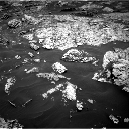 Nasa's Mars rover Curiosity acquired this image using its Right Navigation Camera on Sol 1717, at drive 2302, site number 63
