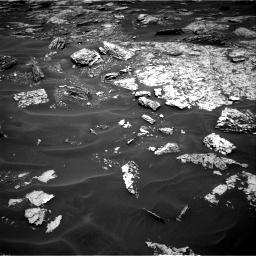 Nasa's Mars rover Curiosity acquired this image using its Right Navigation Camera on Sol 1717, at drive 2308, site number 63