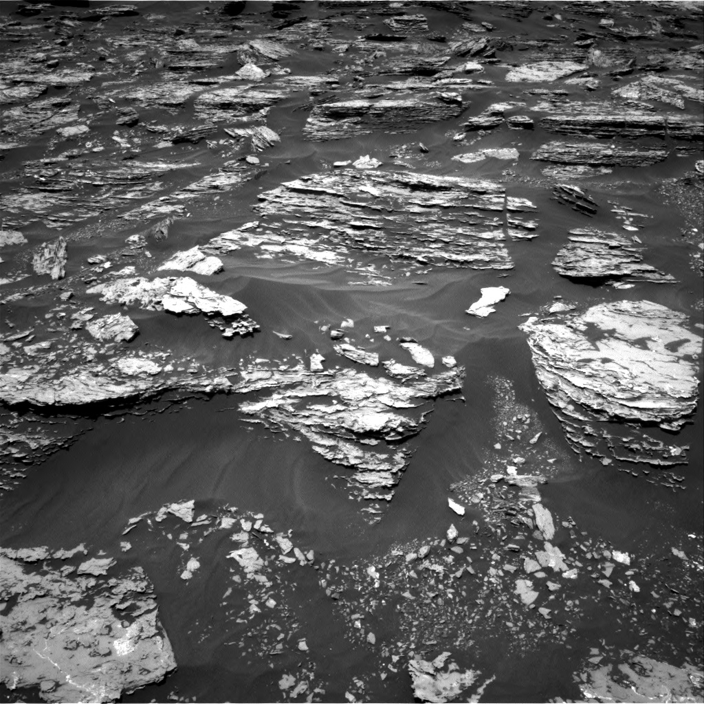 Nasa's Mars rover Curiosity acquired this image using its Right Navigation Camera on Sol 1717, at drive 2314, site number 63