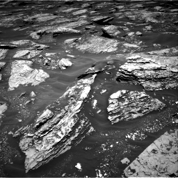 Nasa's Mars rover Curiosity acquired this image using its Right Navigation Camera on Sol 1717, at drive 2344, site number 63