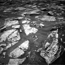 Nasa's Mars rover Curiosity acquired this image using its Right Navigation Camera on Sol 1717, at drive 2356, site number 63