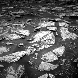 Nasa's Mars rover Curiosity acquired this image using its Right Navigation Camera on Sol 1717, at drive 2362, site number 63