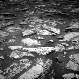 Nasa's Mars rover Curiosity acquired this image using its Right Navigation Camera on Sol 1717, at drive 2368, site number 63