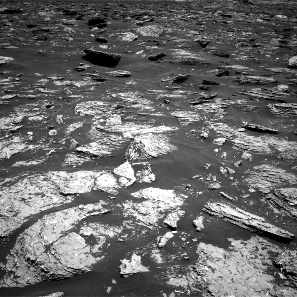 Nasa's Mars rover Curiosity acquired this image using its Right Navigation Camera on Sol 1717, at drive 2372, site number 63