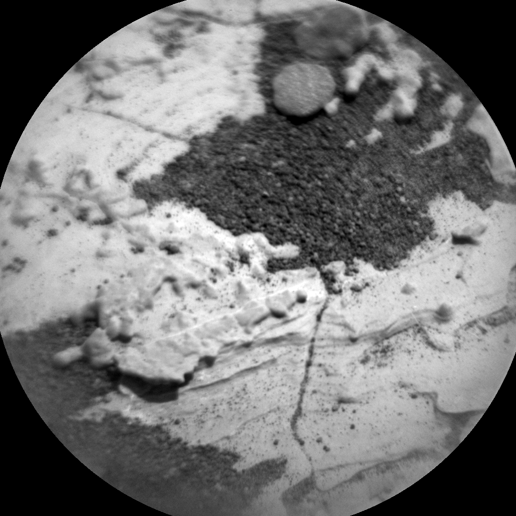 Nasa's Mars rover Curiosity acquired this image using its Chemistry & Camera (ChemCam) on Sol 1717, at drive 2372, site number 63
