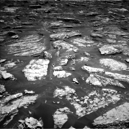 Nasa's Mars rover Curiosity acquired this image using its Left Navigation Camera on Sol 1718, at drive 2378, site number 63