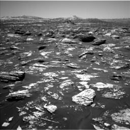 Nasa's Mars rover Curiosity acquired this image using its Left Navigation Camera on Sol 1718, at drive 2510, site number 63