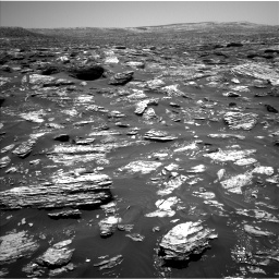 Nasa's Mars rover Curiosity acquired this image using its Left Navigation Camera on Sol 1718, at drive 2534, site number 63