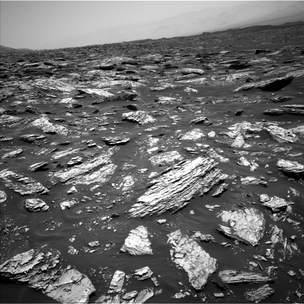 NASA's Mars rover Curiosity acquired this image using its Left Navigation Camera (Navcams) on Sol 1718