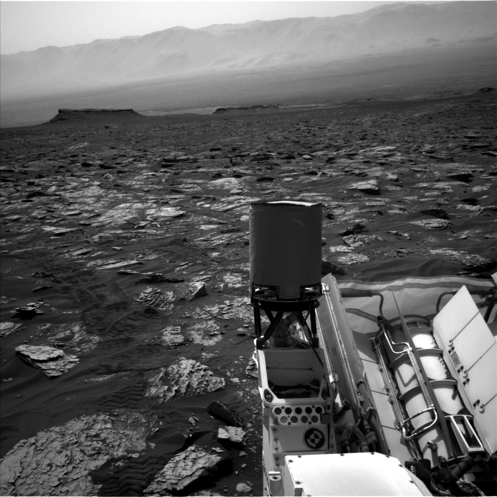 Nasa's Mars rover Curiosity acquired this image using its Left Navigation Camera on Sol 1718, at drive 2582, site number 63
