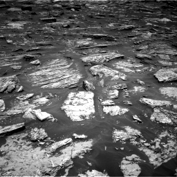 Nasa's Mars rover Curiosity acquired this image using its Right Navigation Camera on Sol 1718, at drive 2384, site number 63