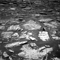 Nasa's Mars rover Curiosity acquired this image using its Right Navigation Camera on Sol 1718, at drive 2390, site number 63