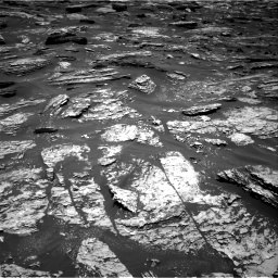 Nasa's Mars rover Curiosity acquired this image using its Right Navigation Camera on Sol 1718, at drive 2414, site number 63