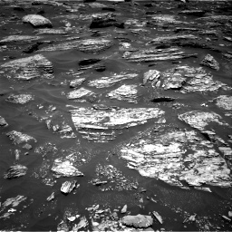 Nasa's Mars rover Curiosity acquired this image using its Right Navigation Camera on Sol 1718, at drive 2426, site number 63