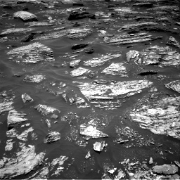 Nasa's Mars rover Curiosity acquired this image using its Right Navigation Camera on Sol 1718, at drive 2432, site number 63