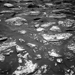 Nasa's Mars rover Curiosity acquired this image using its Right Navigation Camera on Sol 1718, at drive 2438, site number 63
