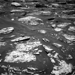 Nasa's Mars rover Curiosity acquired this image using its Right Navigation Camera on Sol 1718, at drive 2444, site number 63
