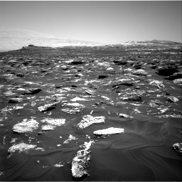 Nasa's Mars rover Curiosity acquired this image using its Right Navigation Camera on Sol 1718, at drive 2462, site number 63