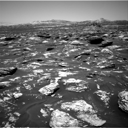 Nasa's Mars rover Curiosity acquired this image using its Right Navigation Camera on Sol 1718, at drive 2498, site number 63