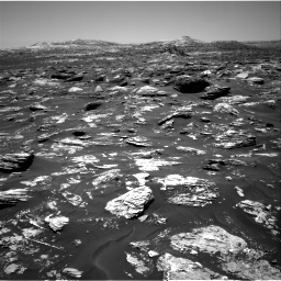 Nasa's Mars rover Curiosity acquired this image using its Right Navigation Camera on Sol 1718, at drive 2504, site number 63