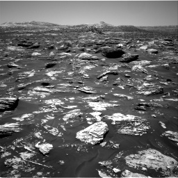 Nasa's Mars rover Curiosity acquired this image using its Right Navigation Camera on Sol 1718, at drive 2510, site number 63
