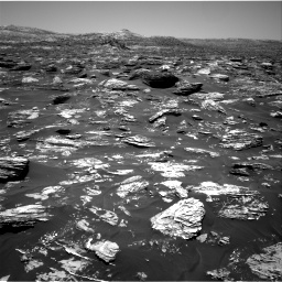 Nasa's Mars rover Curiosity acquired this image using its Right Navigation Camera on Sol 1718, at drive 2516, site number 63