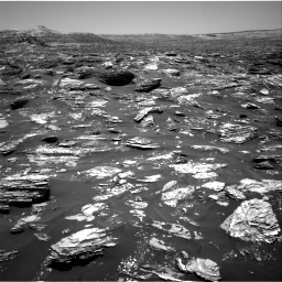 Nasa's Mars rover Curiosity acquired this image using its Right Navigation Camera on Sol 1718, at drive 2528, site number 63