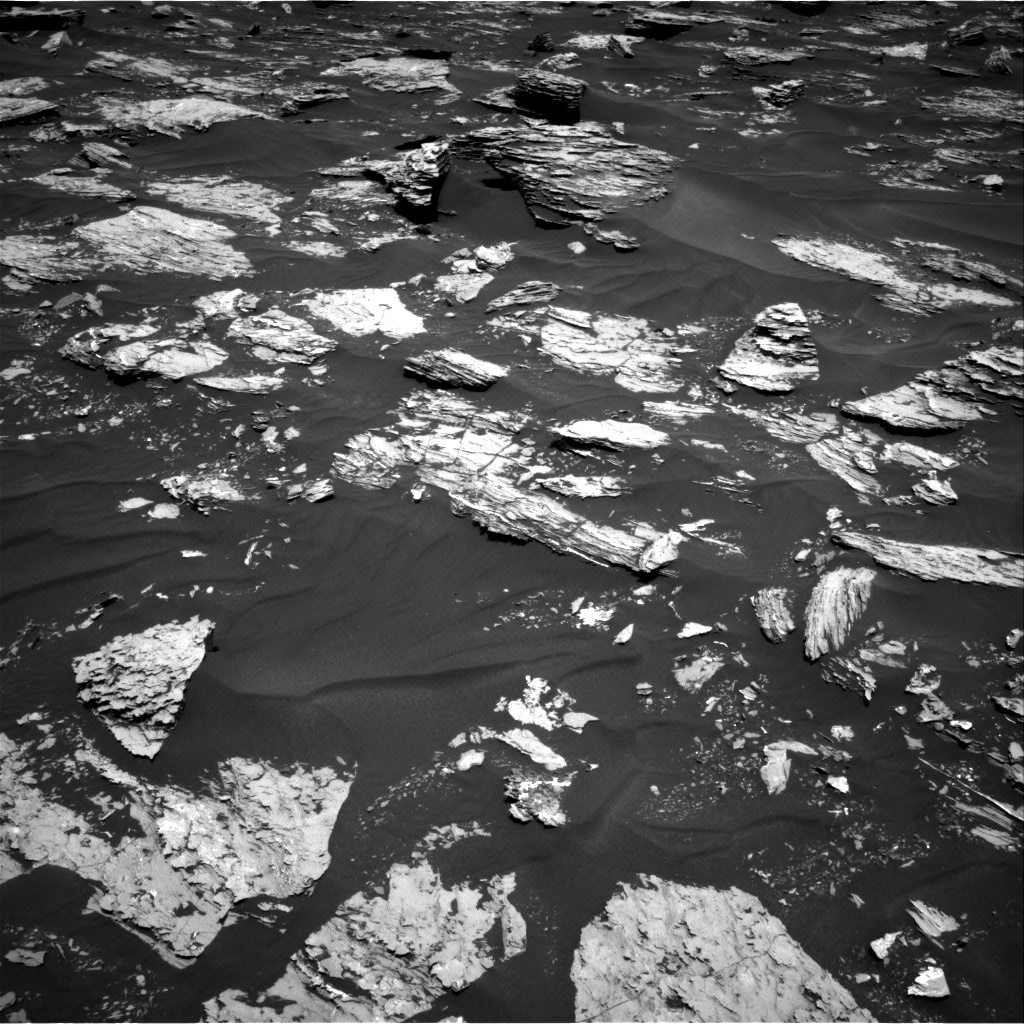 Nasa's Mars rover Curiosity acquired this image using its Right Navigation Camera on Sol 1718, at drive 2546, site number 63