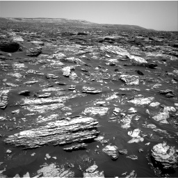 Nasa's Mars rover Curiosity acquired this image using its Right Navigation Camera on Sol 1718, at drive 2558, site number 63