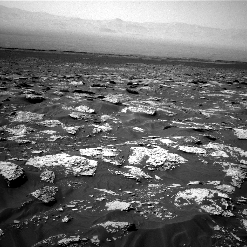 Nasa's Mars rover Curiosity acquired this image using its Right Navigation Camera on Sol 1718, at drive 2582, site number 63