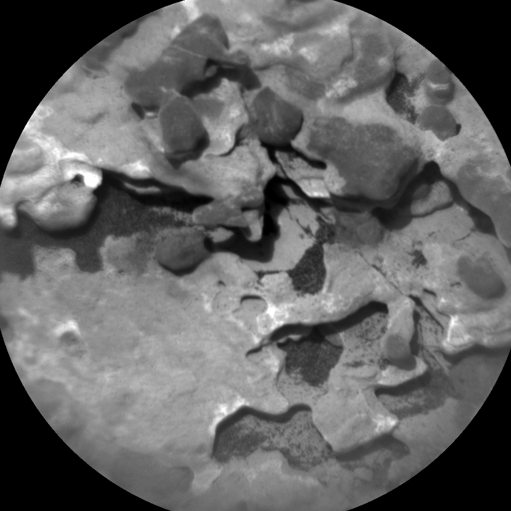 Nasa's Mars rover Curiosity acquired this image using its Chemistry & Camera (ChemCam) on Sol 1718, at drive 2372, site number 63