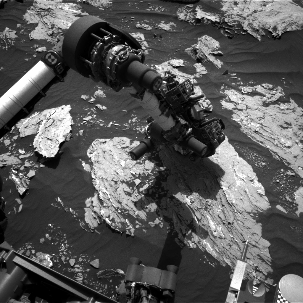 Nasa's Mars rover Curiosity acquired this image using its Left Navigation Camera on Sol 1719, at drive 2582, site number 63