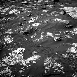Nasa's Mars rover Curiosity acquired this image using its Left Navigation Camera on Sol 1719, at drive 2606, site number 63
