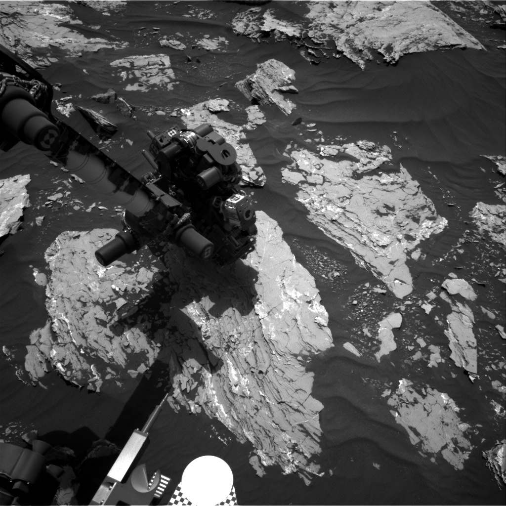 Nasa's Mars rover Curiosity acquired this image using its Right Navigation Camera on Sol 1719, at drive 2582, site number 63