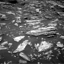 Nasa's Mars rover Curiosity acquired this image using its Right Navigation Camera on Sol 1719, at drive 2594, site number 63