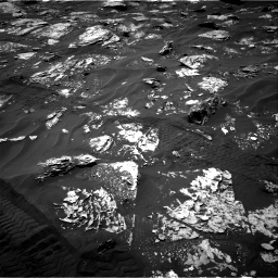 Nasa's Mars rover Curiosity acquired this image using its Right Navigation Camera on Sol 1719, at drive 2618, site number 63