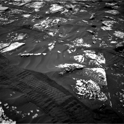 Nasa's Mars rover Curiosity acquired this image using its Right Navigation Camera on Sol 1719, at drive 2624, site number 63