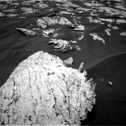 Nasa's Mars rover Curiosity acquired this image using its Right Navigation Camera on Sol 1719, at drive 2666, site number 63