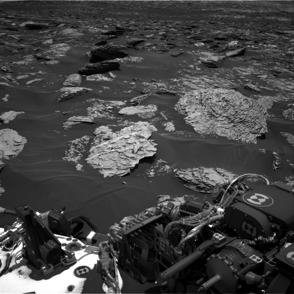 Nasa's Mars rover Curiosity acquired this image using its Right Navigation Camera on Sol 1719, at drive 2672, site number 63