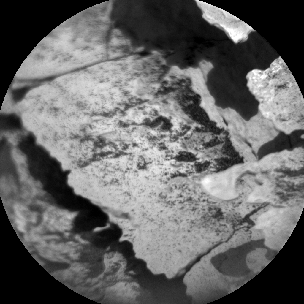 Nasa's Mars rover Curiosity acquired this image using its Chemistry & Camera (ChemCam) on Sol 1719, at drive 2582, site number 63