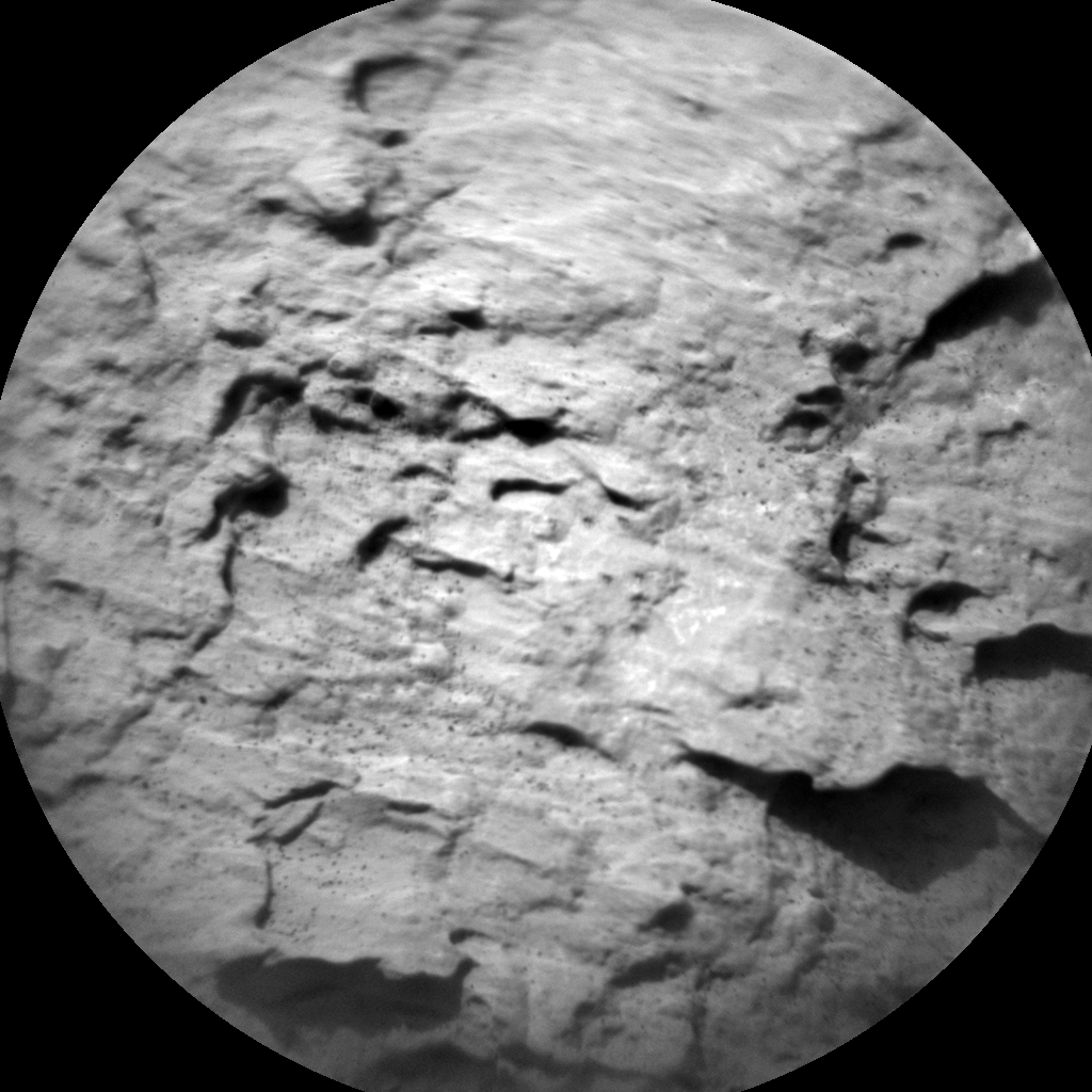 Nasa's Mars rover Curiosity acquired this image using its Chemistry & Camera (ChemCam) on Sol 1719, at drive 2672, site number 63