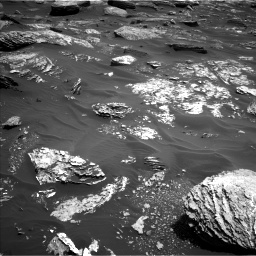 Nasa's Mars rover Curiosity acquired this image using its Left Navigation Camera on Sol 1720, at drive 2708, site number 63