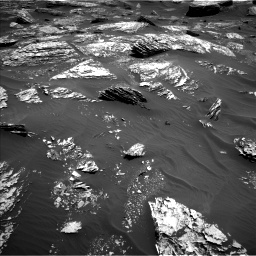 Nasa's Mars rover Curiosity acquired this image using its Left Navigation Camera on Sol 1720, at drive 2720, site number 63