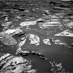 Nasa's Mars rover Curiosity acquired this image using its Left Navigation Camera on Sol 1720, at drive 2732, site number 63
