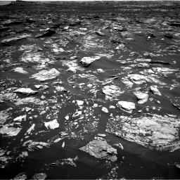 Nasa's Mars rover Curiosity acquired this image using its Left Navigation Camera on Sol 1720, at drive 2768, site number 63