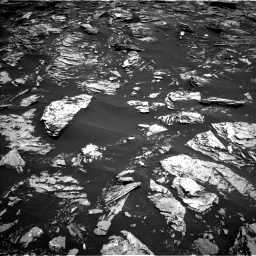 Nasa's Mars rover Curiosity acquired this image using its Left Navigation Camera on Sol 1720, at drive 2804, site number 63