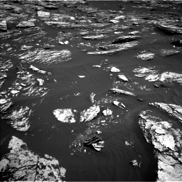 Nasa's Mars rover Curiosity acquired this image using its Left Navigation Camera on Sol 1720, at drive 2858, site number 63