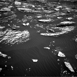Nasa's Mars rover Curiosity acquired this image using its Left Navigation Camera on Sol 1720, at drive 2876, site number 63