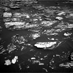 Nasa's Mars rover Curiosity acquired this image using its Left Navigation Camera on Sol 1720, at drive 2894, site number 63