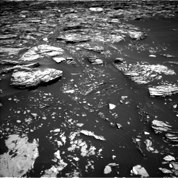 Nasa's Mars rover Curiosity acquired this image using its Left Navigation Camera on Sol 1720, at drive 2954, site number 63